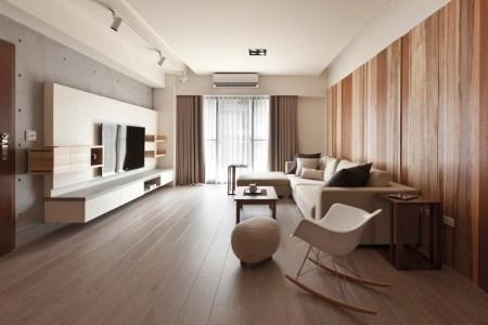 natural modern decor living room