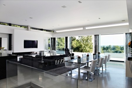 black and white interior design 7