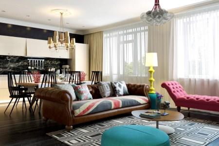 pop art style interior