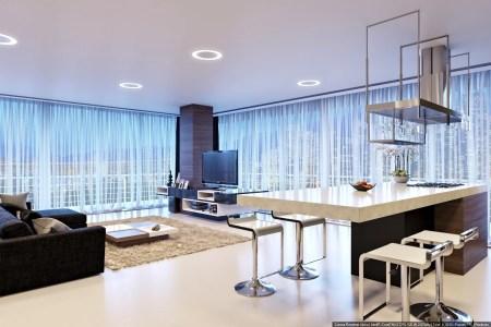 38 kitchen lounge