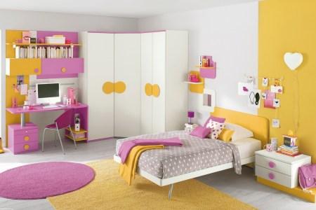 14 pink yellow girls bedroom