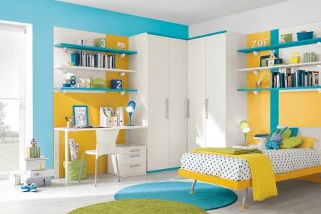 18 blue yellow white bedroom decor