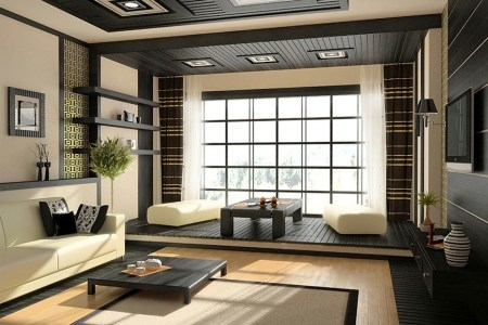 2 zen living room