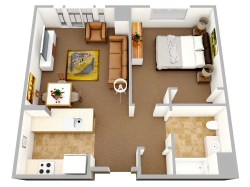 Small Of Small Apartment Design Floor Plan