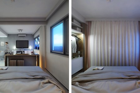 2 super small apartments under 30 square meters