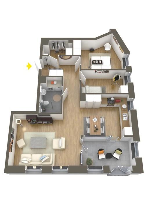 Medium Of Bedroom Layout Ideas
