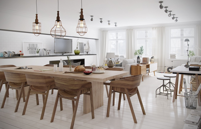 scandinavian dining room design ideas inspiration kitchen table lighting