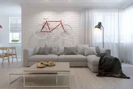 modern scandinavian home interior