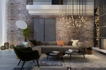 sophisticated living room lighting ideas