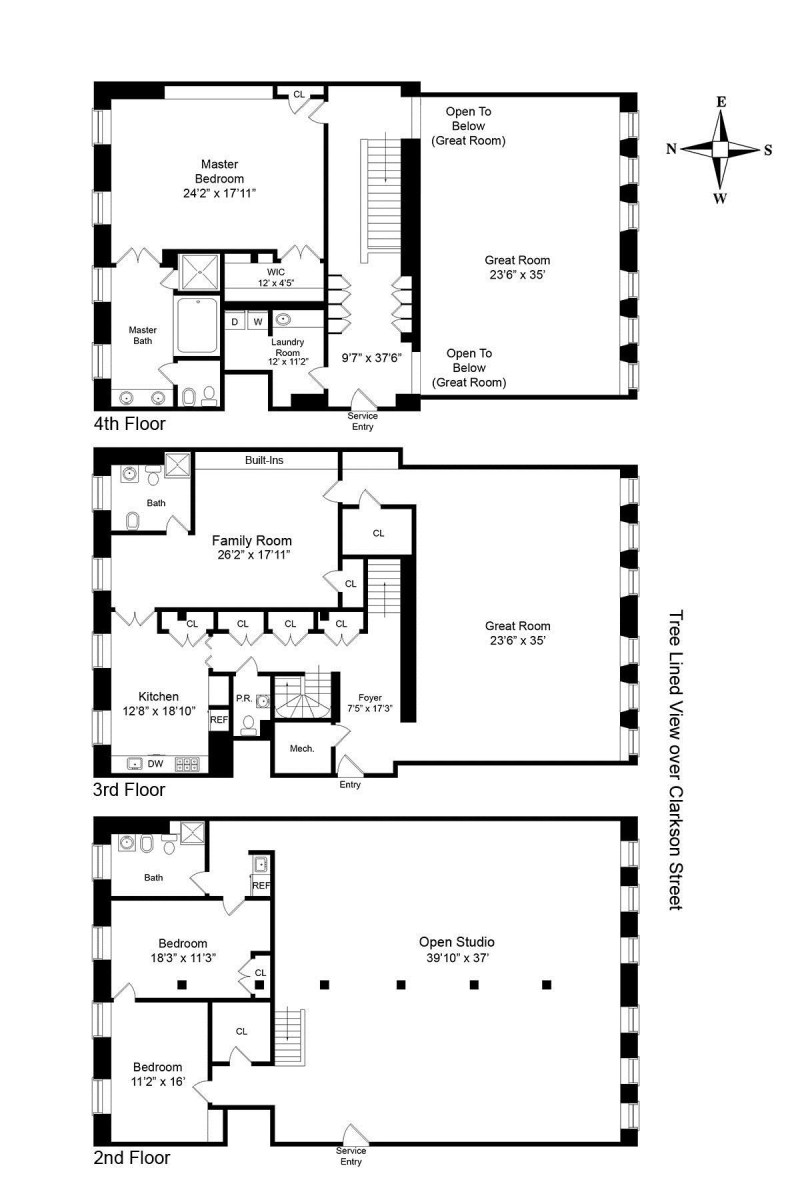 Large Of Floor Plan Of An Apartment