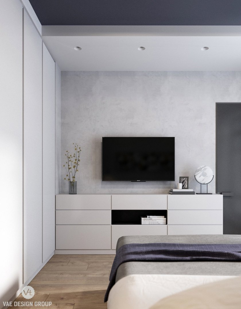 white-walled-bedroom-with-quirky-features-hole-out-lighting-wardrobe-panelling