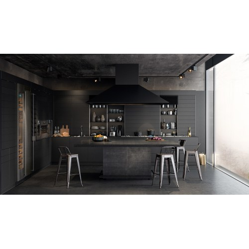 Medium Crop Of Black Kitchen Walls
