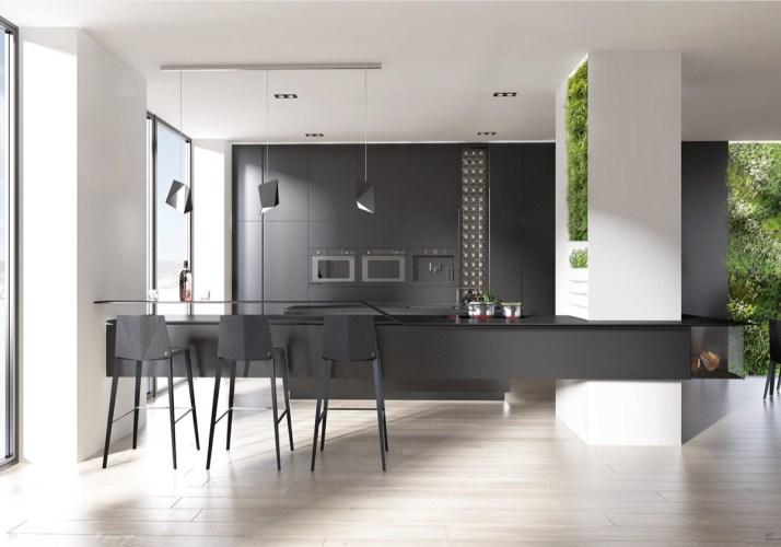 40 beautiful black white kitchen designs white kitchen designs 1