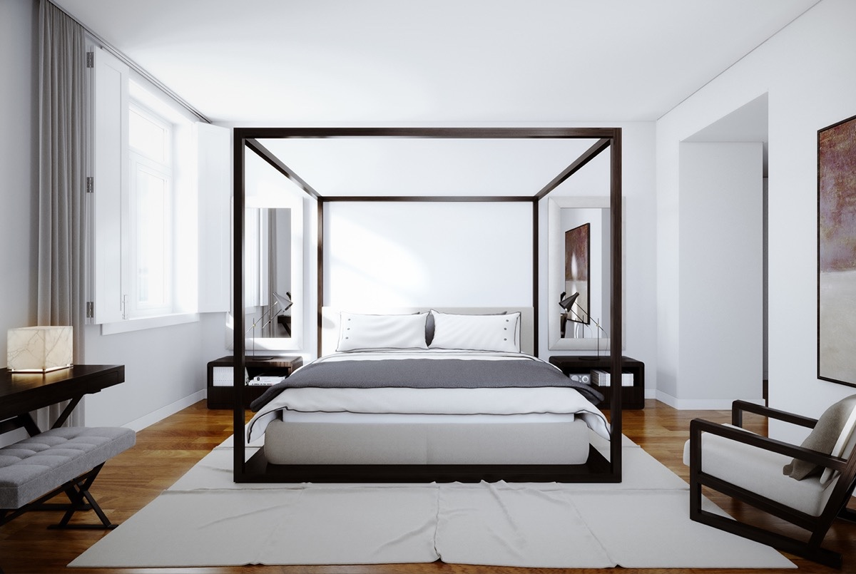 High Poster Beds That Make An Bedroom Four Poster Bed Diy Four Poster Bedroom Sets houzz 01 Four Poster Bed