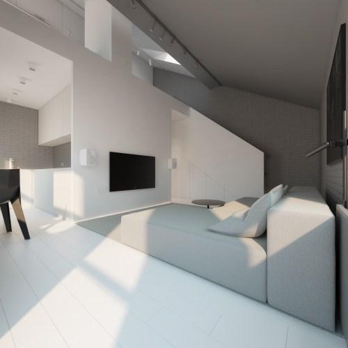 Medium Of Minimalist Interior Design Living Room