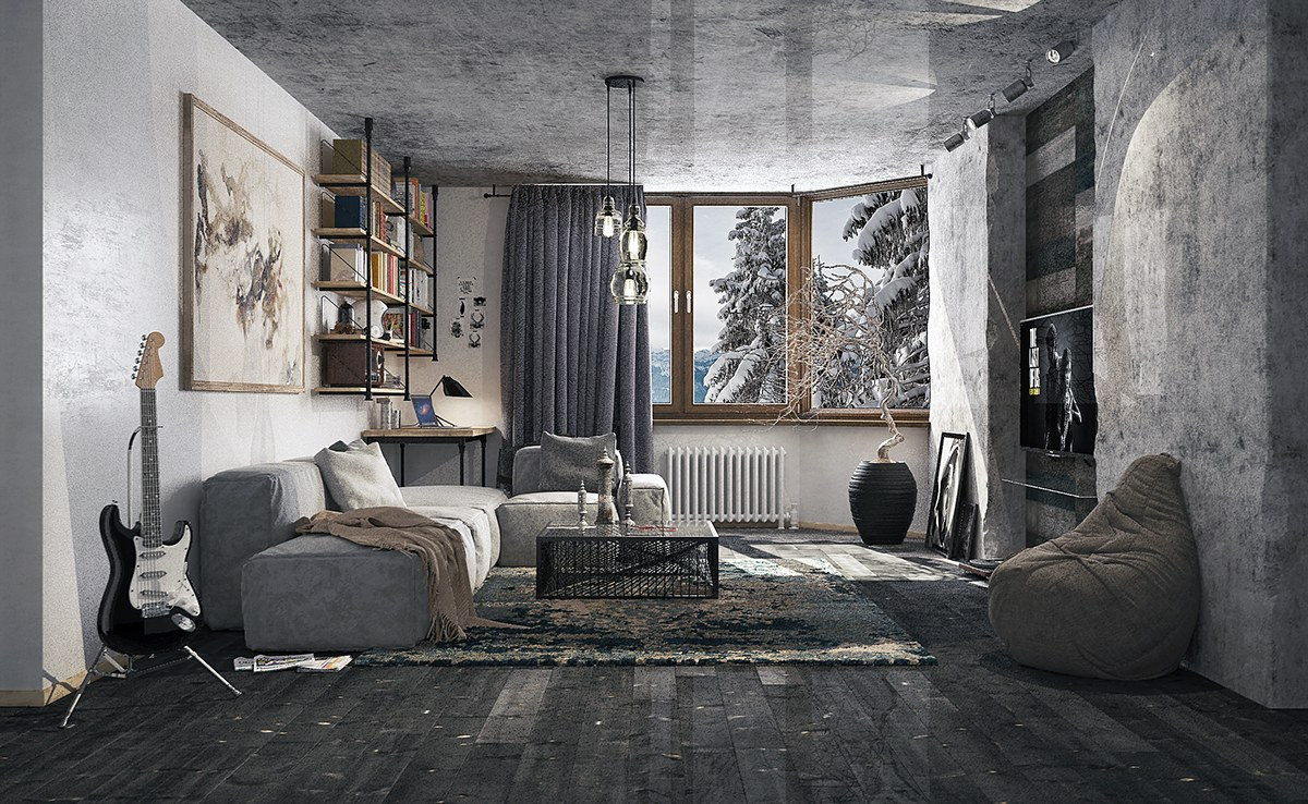 Noble Grey Living Rooms That Help Your Lounge Look Effortlessly Andunderd Grey Living Rooms That Help Your Lounge Look Effortlessly Sofa Living Room Ideas Charcoal Living Room Ideas houzz-02 Gray Living Room Ideas