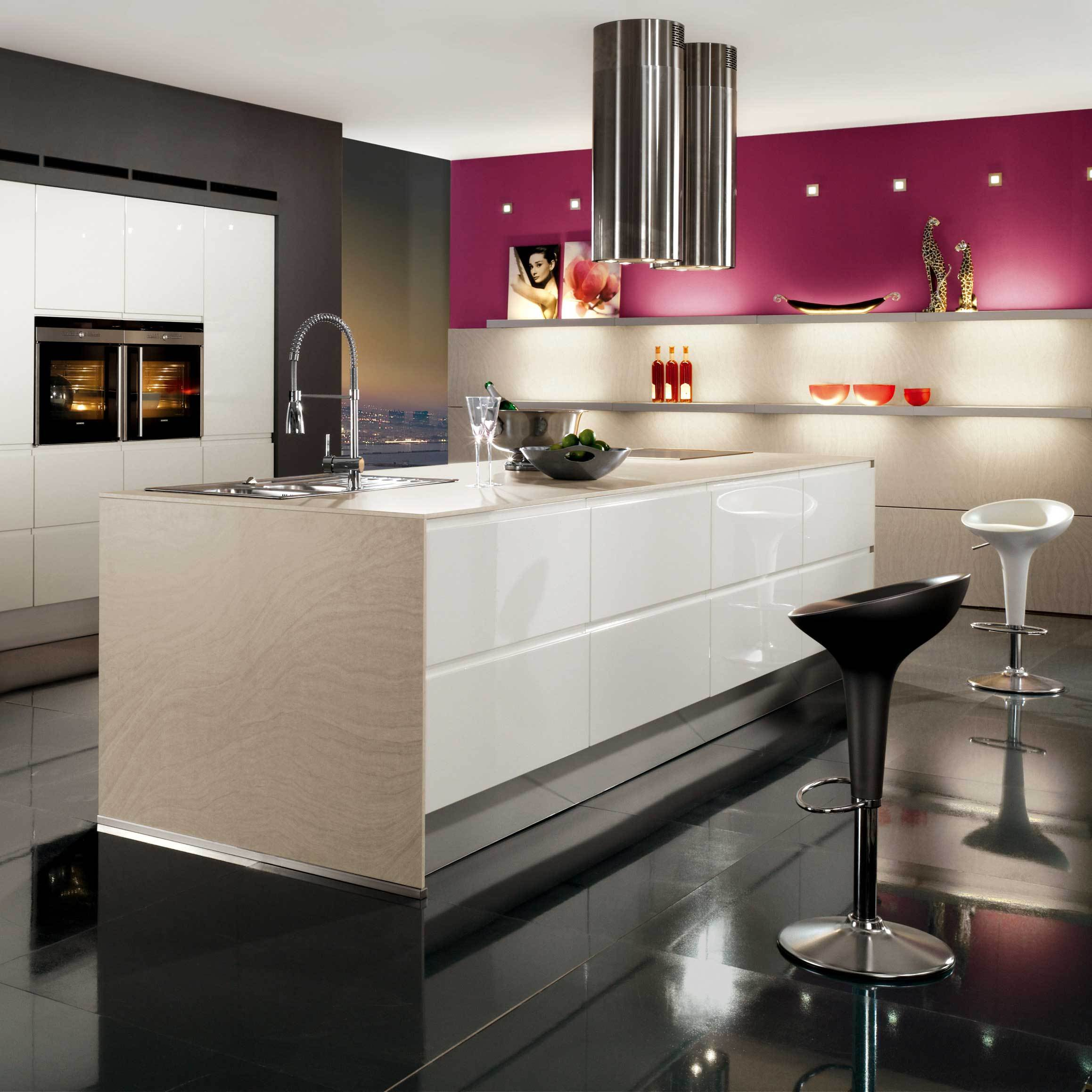 4 modern kitchen cabinets Color centric Modern Kitchen Cabinets
