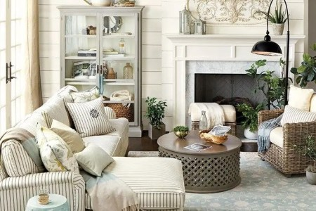 14 farmhouse living room design and decor ideas homebnc
