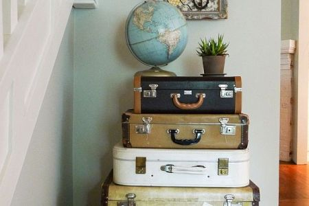 vintage luggage picture