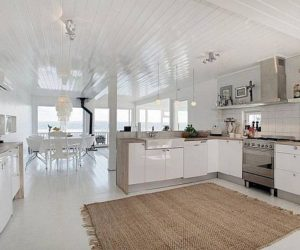 Modern 3 storey residence interior design     Modern residence on Fjord Vangen offering charming views for sale