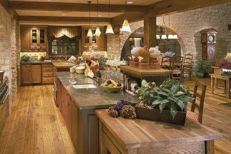 rustic kitchen design picture3