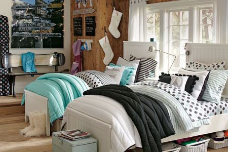 teen girl room design idea