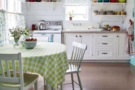 soft cottage kitchen