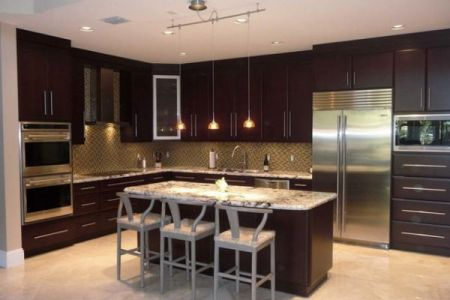 chery l shaped kitchen