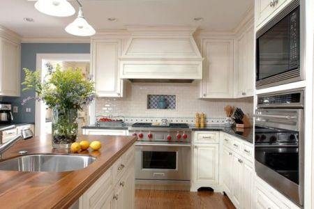 white kitchen hood design