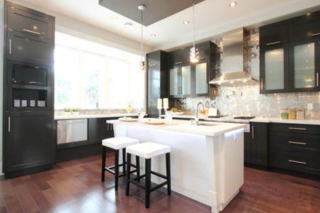 stainless kitchen hood