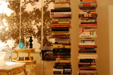 decorate0with books