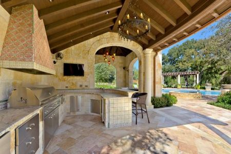 roof outdoor kitchen design