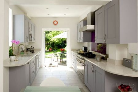 pros for gallery kitchen layout