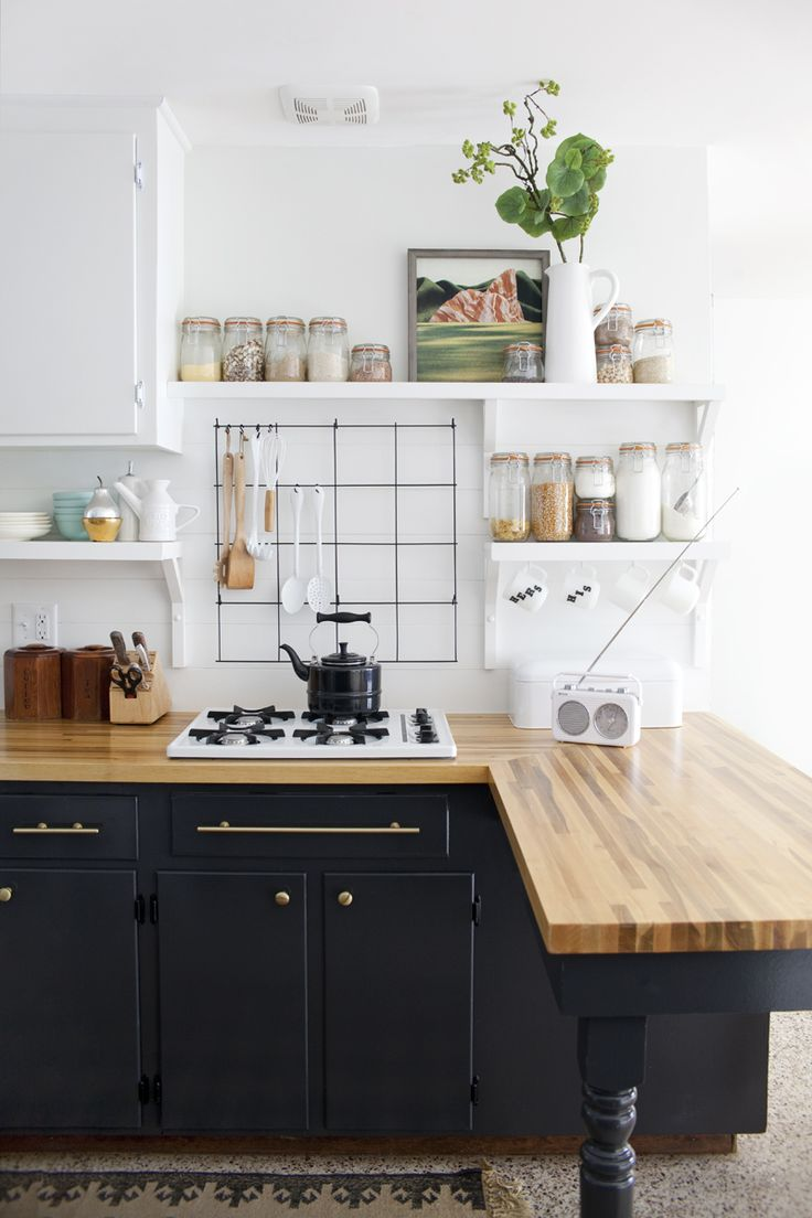 black kitchen cabinets kitchen black cabinets Black Cabinets with Gold Hardware