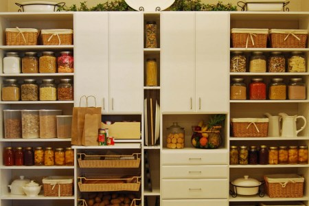 pantry room simple and functional design