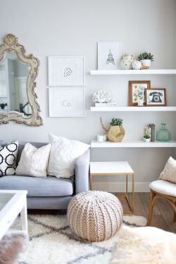 Small Of Floating White Wall Shelves