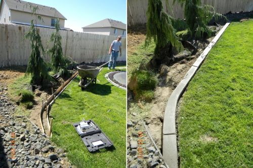 Medium Of Backyard Garden Diy