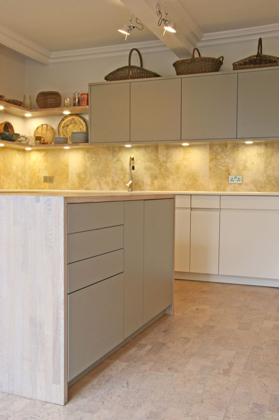 best options for kitchen flooring cork kitchen flooring Kitchen Cork flooring