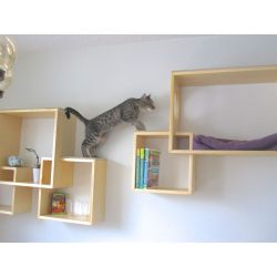 Small Crop Of Modern Wall Mounted Bookshelves