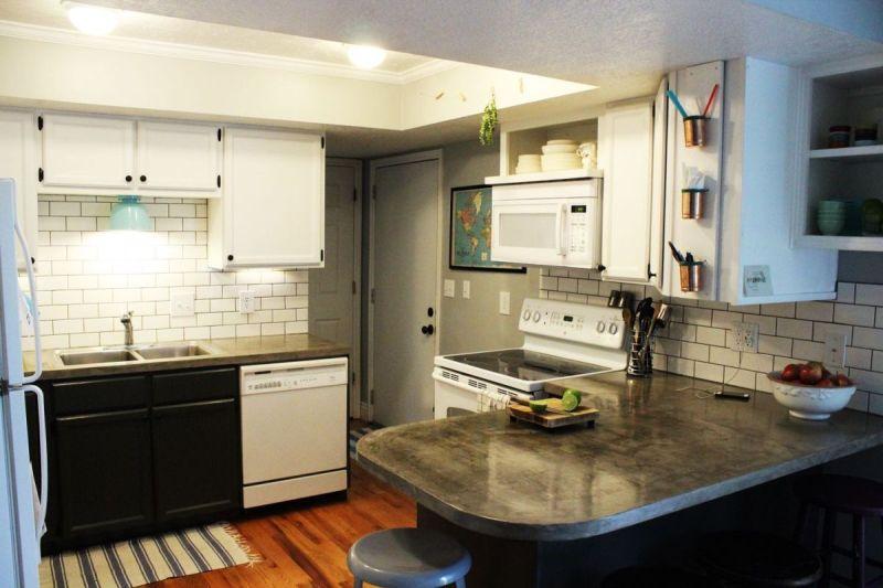 Large Of Subway Tile Kitchen Backsplash