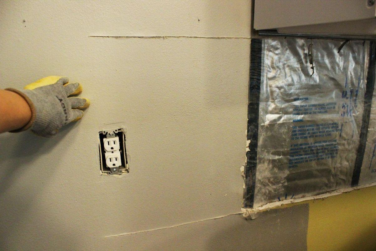 install or repair drywall installing kitchen backsplash Install drywall correctly