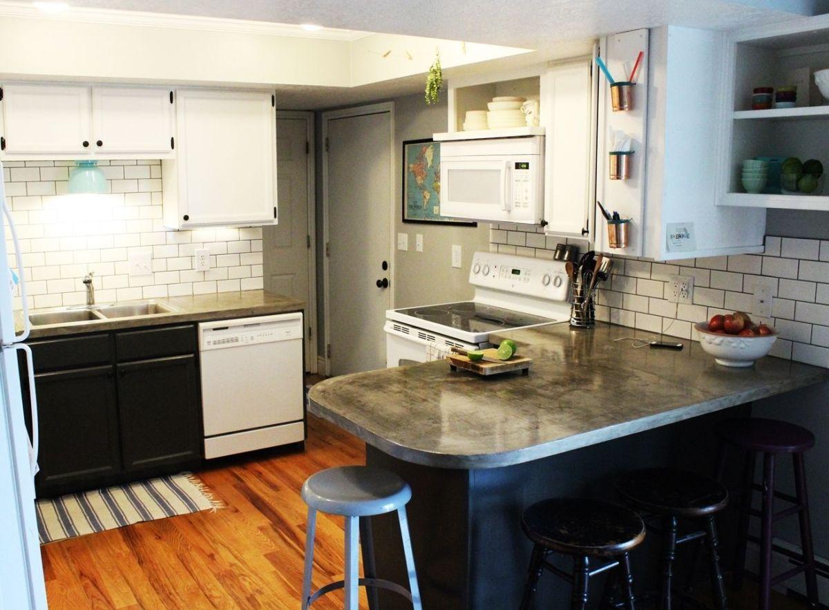 diy kitchen lighting upgrade led lights for kitchen Overall kitchen design with LED lights under cabinets