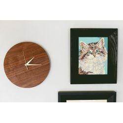 Small Crop Of Unique Wooden Clocks