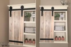 Especial Bathroom Shelves Towel Hooks Barn Door Diy Bathroom Shelves To Increase Your Storage Space Floating Wooden Shelf Bathroom Wooden Bathroom Shelf