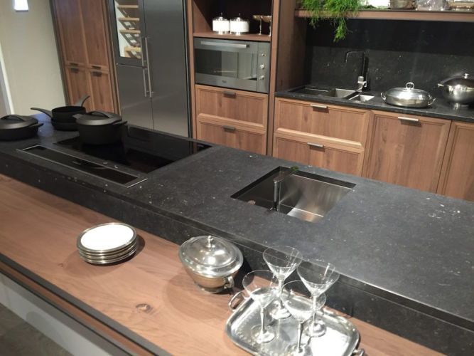 natural soapstone countertops soapstone kitchen countertops If cost is a concern soapstone can easily be paired with other more cost