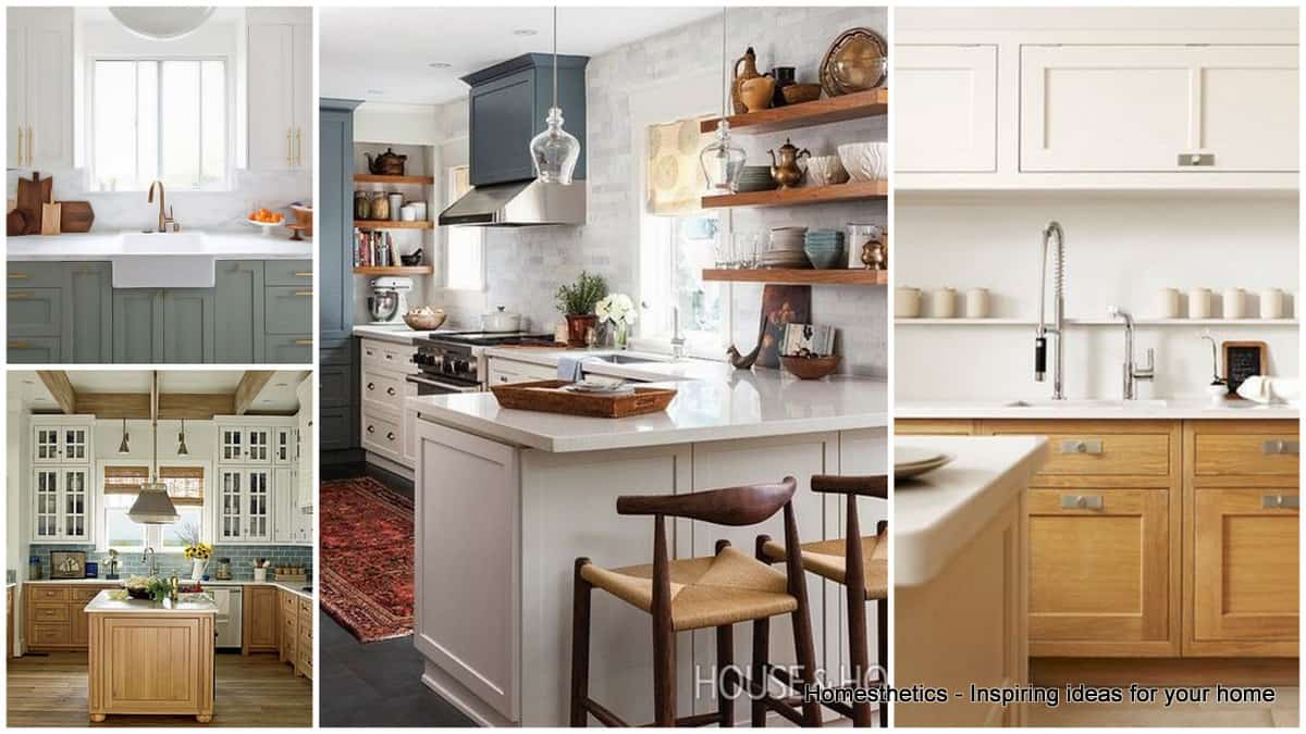 30 gorgeous kitchen cabinets for an elegant interior decor part 2 glass cabinets two tone kitchen cabinets Revamp Your Kitchen with These Gorgeous Two Tone Kitchen Cabinets