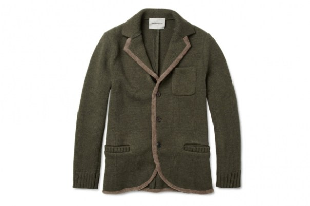 UNDERCOVER Knitted Lightweight Wool Jacket