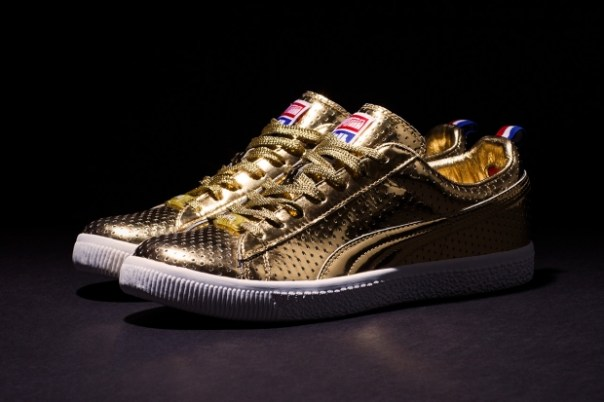 "UNDFTD x PUMA Clyde ""Gametime"" 24k Metallic Gold – A Closer Look"