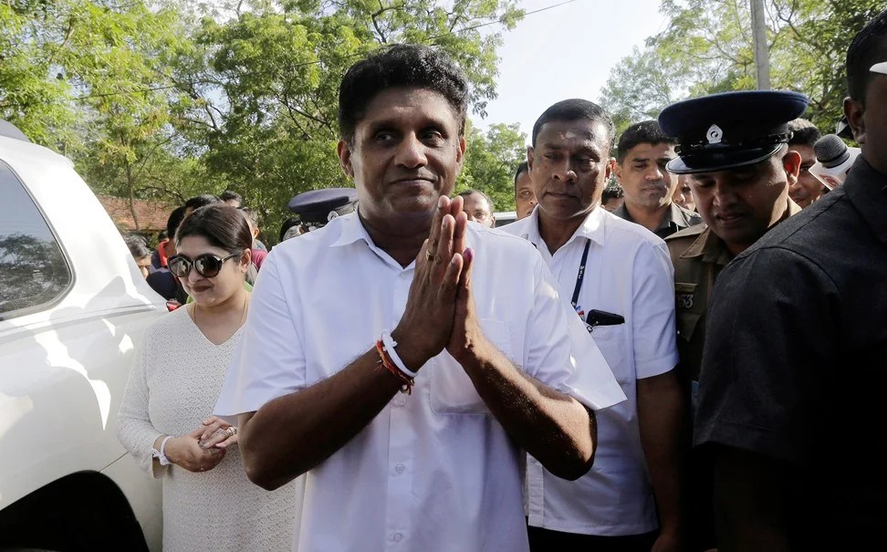 Sajith Premadasa conceded defeat. Photo: Reuters