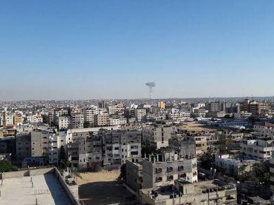 قصف اسرائيلي متواصل على قطاع غزة بعد إطلاق صاروخ باتجاه اسرائيل